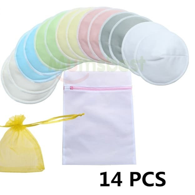 Breast Pad Washable 14 Pieces