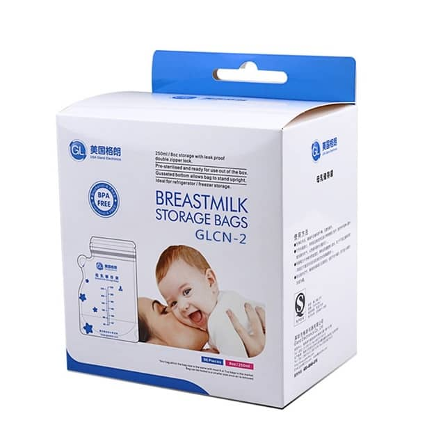 Milk Storage Bags For Breastfeeding (96 Pieces)