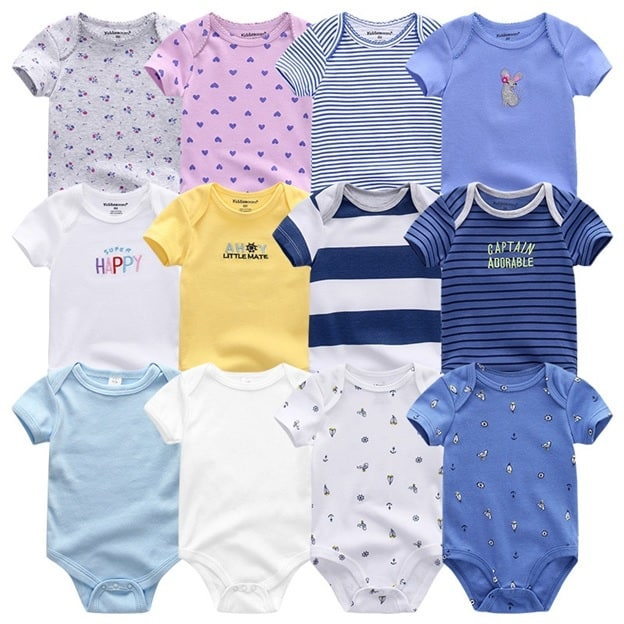Unisex Newborn Baby Clothes Daily Pieces (Set Of 7)